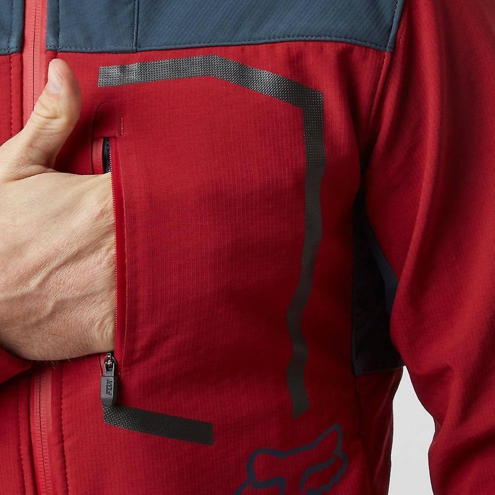 Hombre Racing Attack Fox Cardinal Jacket Fire Jackets Red S xRwaq8TnWa