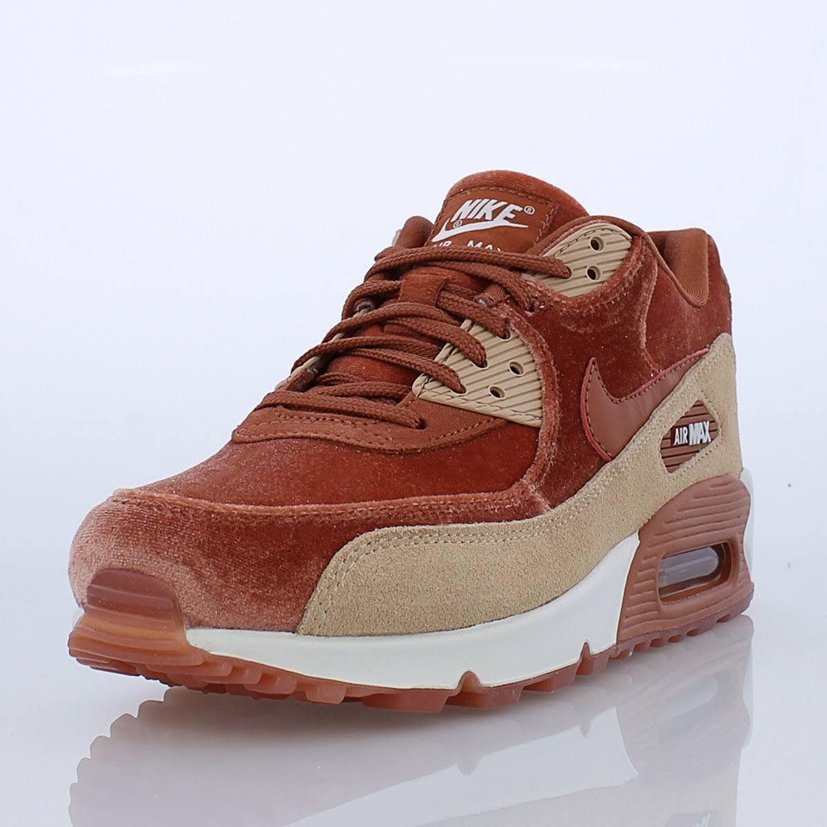 Lx Zapatos Beige Peach Max Nike 9 De Size Dusty Velvet Bio Mujer Air 90 XzOnBtq