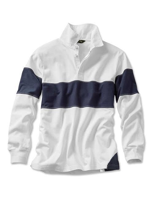 Navy Für shirt Langärmliges Größe Herren Rugby Orvis Large IAwPq