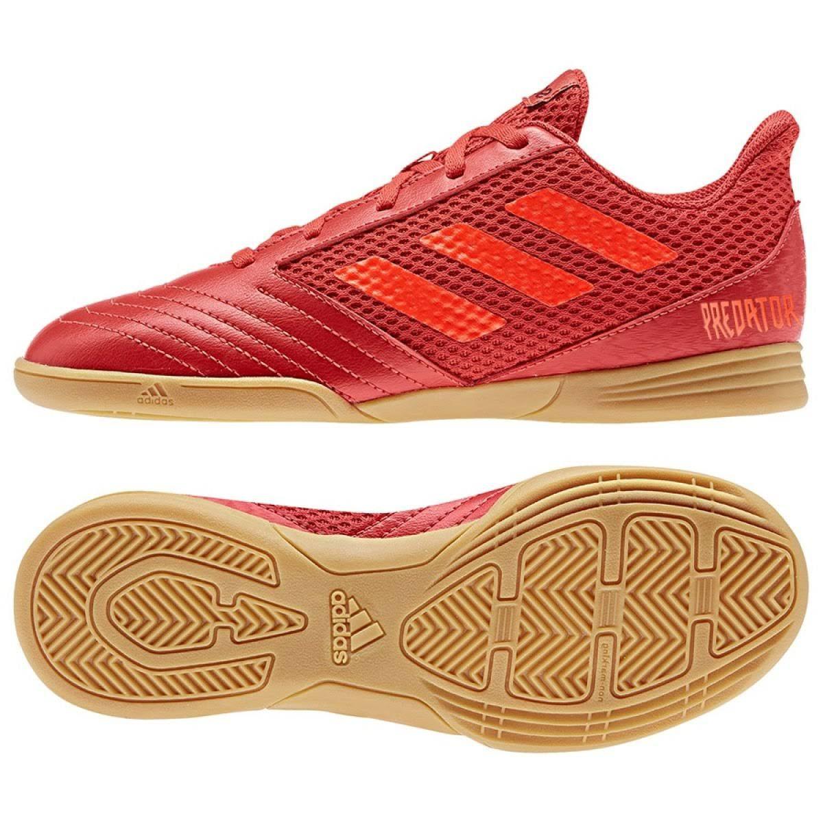 Scarpe da Calcio a 5 per bambini Adidas Predator 19.4 in Junior Rosso  O4izbq