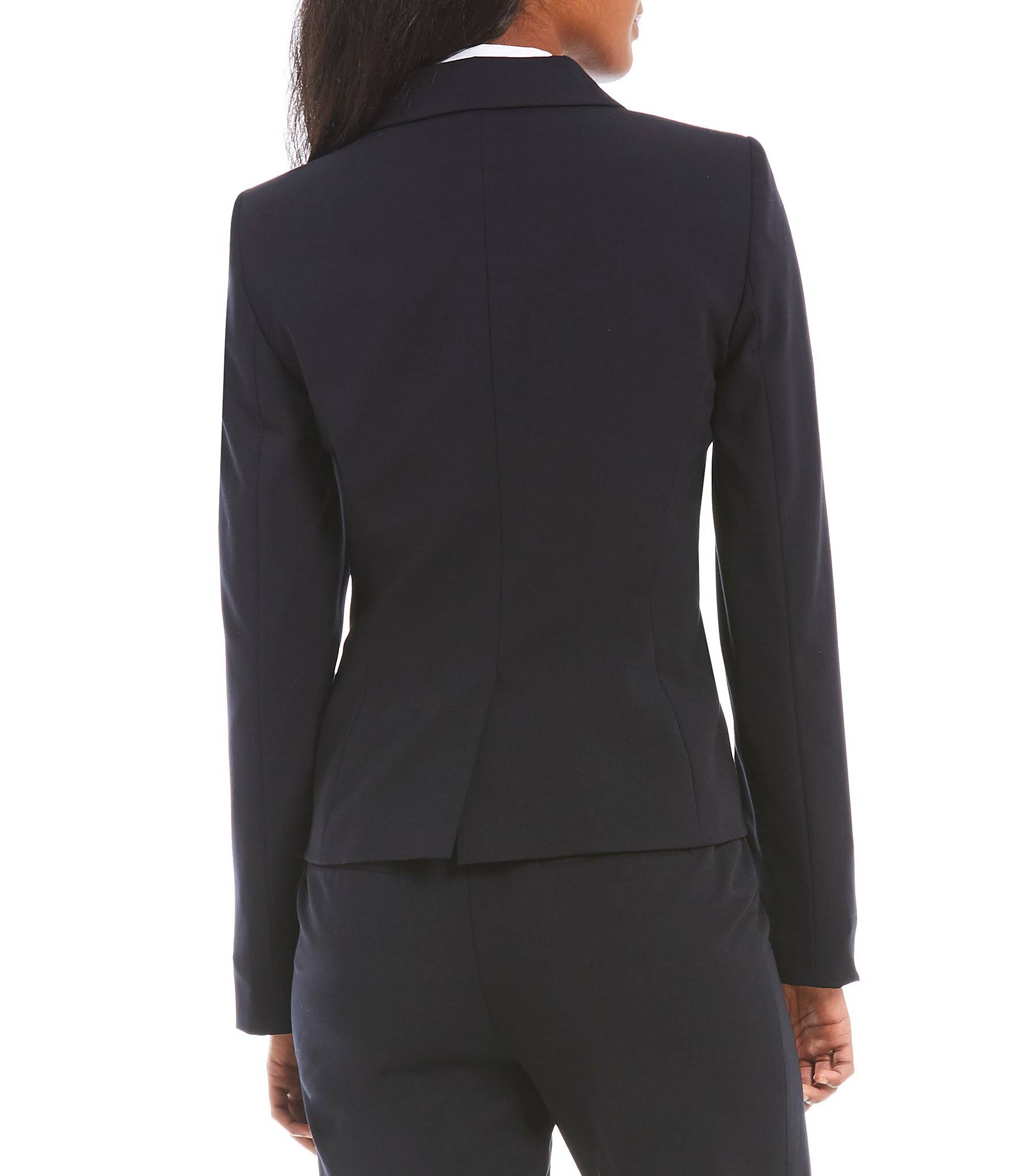Botones Klein Para Blazer Mujer Calvin Con Azul Tamaño Dos 16 gFnUqn6wxa