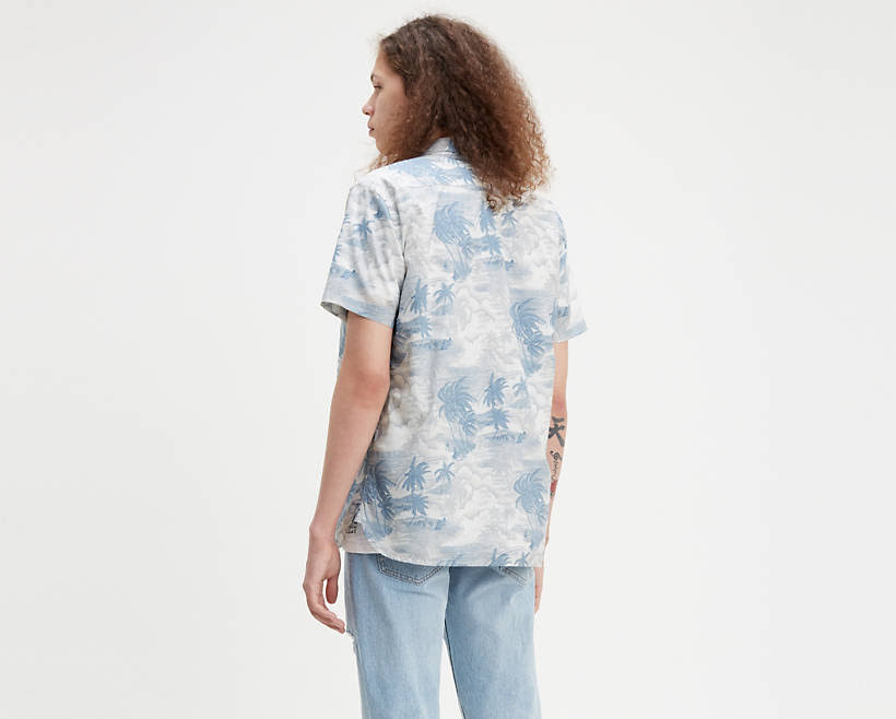 Dusty Camisa Sunset Tejida Hawaii Levi's Blue anzqp4nw