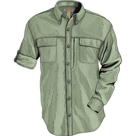Para De Trading Duluth Company Green Camisa Larga Hombre Manga Action T7FwOqIq
