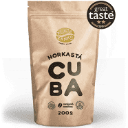 """Káva Zlaté Zrnko - Cuba """"HORKASTÁ"""" - NAJZAUJÍMAVEJŠIA 500 g ZRNKOVÁ"""