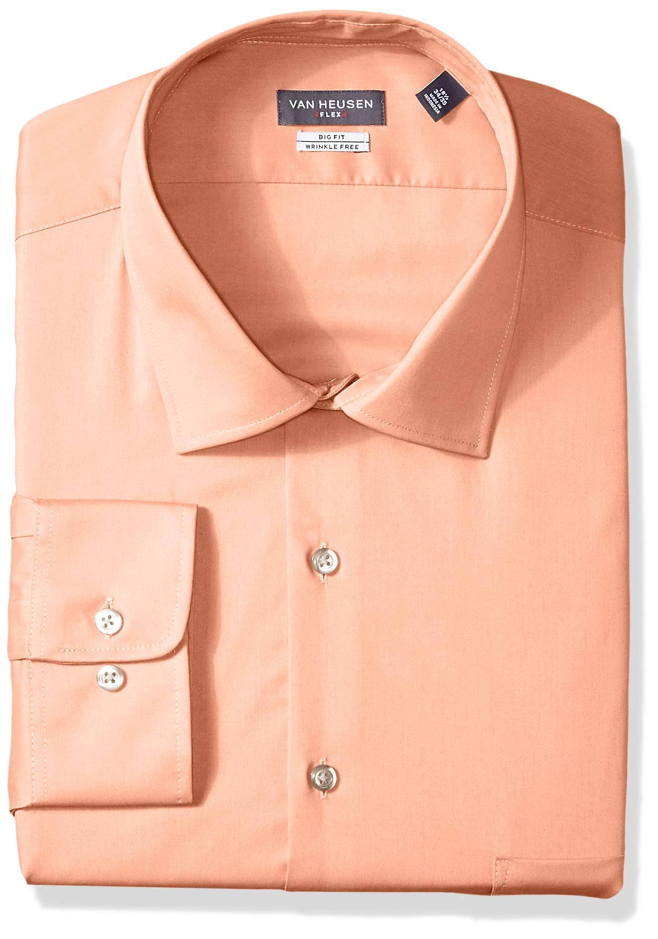 Heusen Flex Fit Solid Regular Herren Businesshemd Van 8qypFSfq