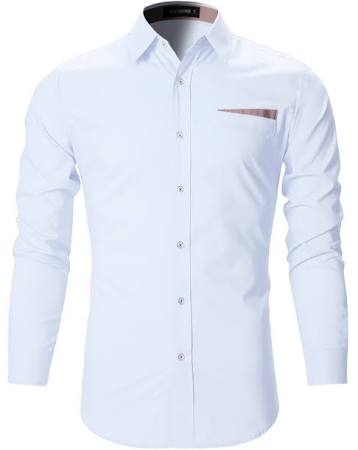 Camisas De Para Vestir Fit Casuales Hombres Blancas sh183 Checker Pequeñas Slim rrf6wHxq