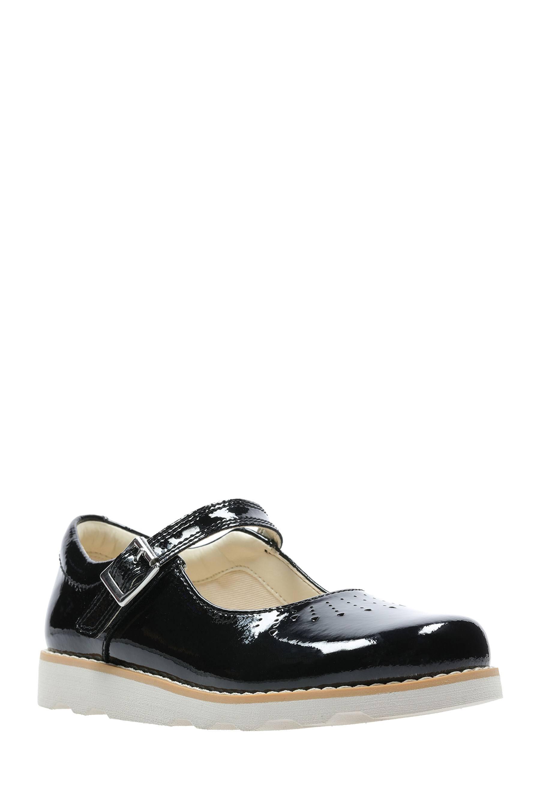 in 1 Kid synthetische Clarks schoenen Jump zwart Crown fit standaard maat m8nNwv0O