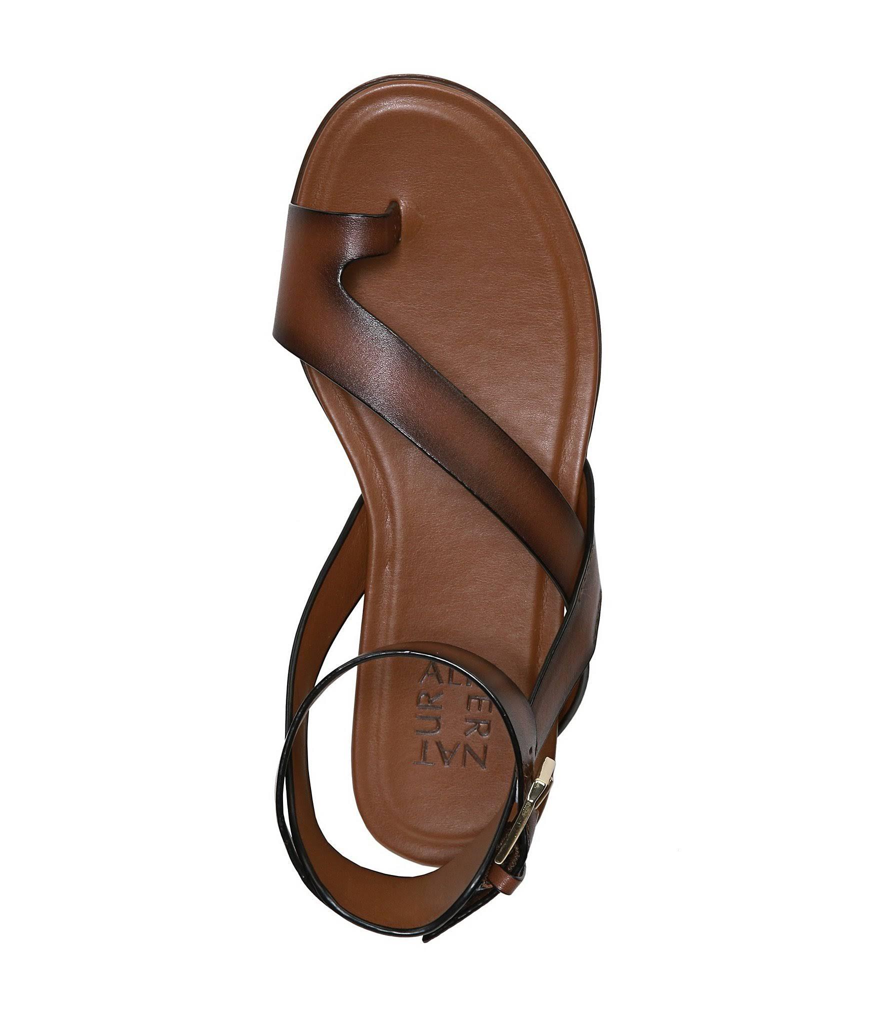 Sandalo NaturalizerMisura5Pelle Flat Da Marrone Donna Di Lodge Tally uTJF3lKc51