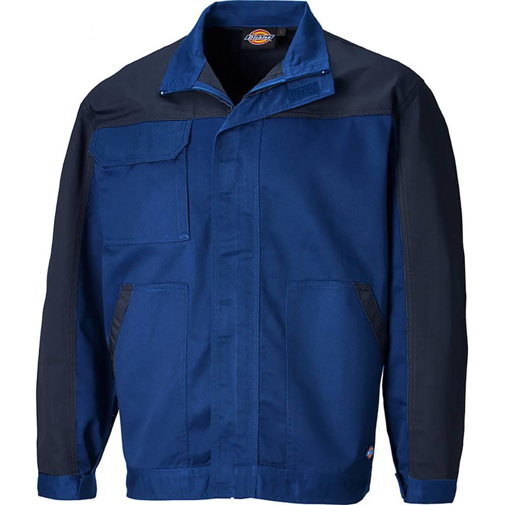 Polycotton Mens Navy Workwear Jacke Royal Two Everyday Dickies Tone Verstellbare 4EqBxw