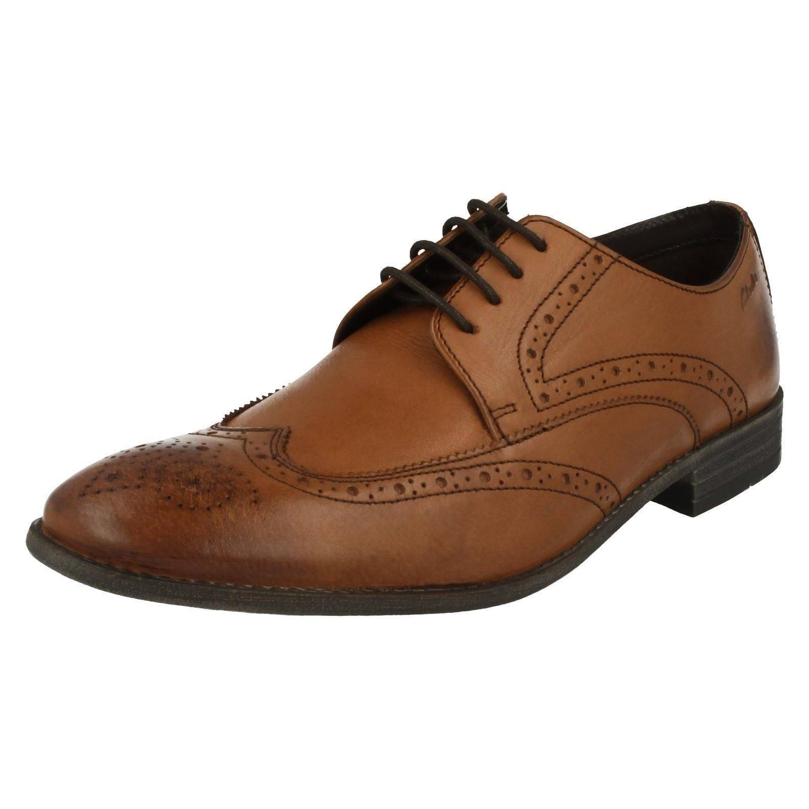 Tanmarrone Clarks Chart Mens Limit Smart Brogues MUVpzS