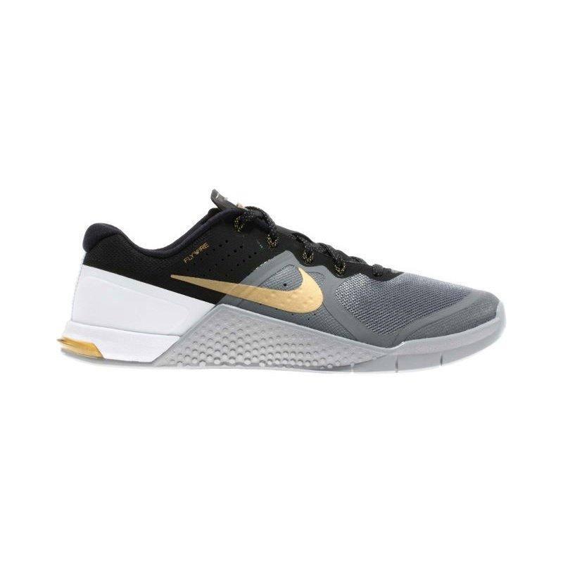 De Warehouse Running Para Metcon 2 Hombre Nike Grey Kelly's D Gold Rqp4TT0Wwv