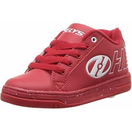 Split Speck Heelys Modischer 7m Knöchelhoher Sneaker Weißer Fleck Rot Weiß AxvdwvqO1