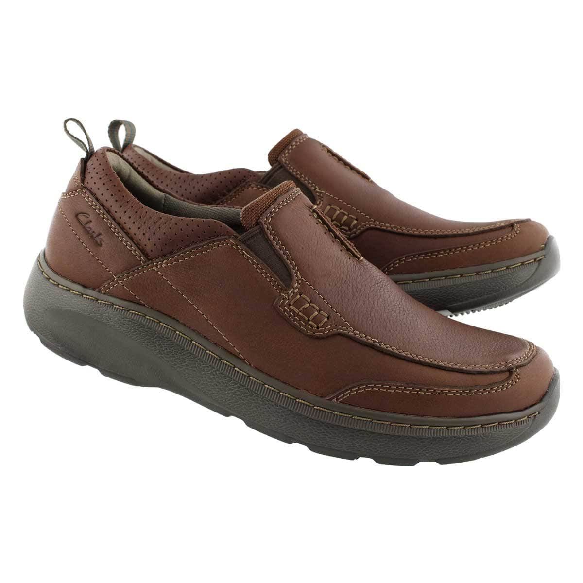 Mens Step Casual Slip Ons Brown Charton qGjSMpLzVU