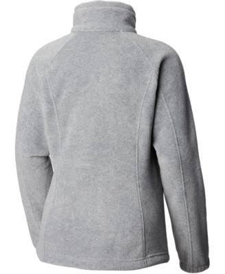 Chaqueta Mujer Para Con Petite Springs Benton Cremallera Fleece Completa Black Columbia De 66SrqP