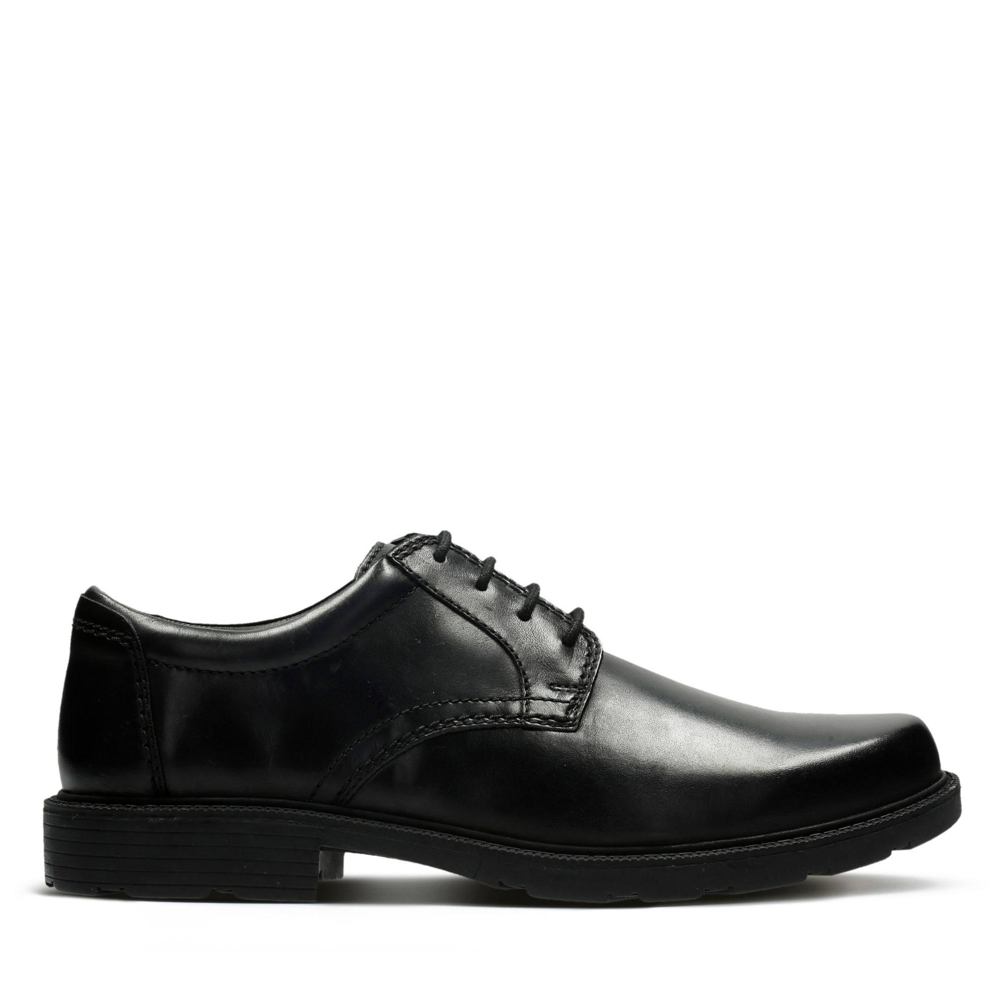 Clarks Lair Leather Men 7 Shoes Black Up Size Lace rrxdB7qwZ