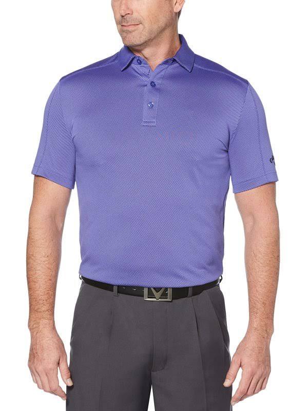 Jacquard Púrpura Hombre Grande 3x Púrpura Callaway Alto Denim De Polo Iris Para Y iris OwB6xq