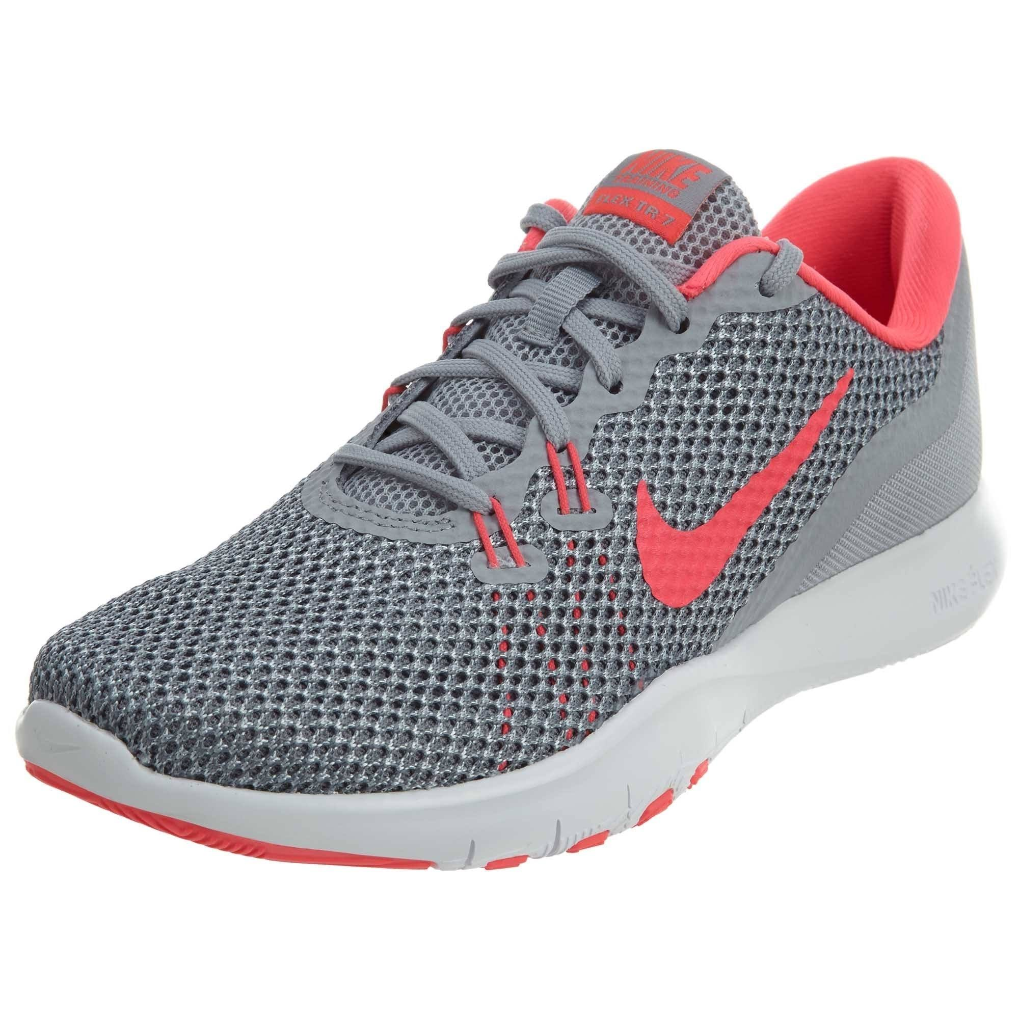 Trainer Flex 7 Women's Wolf Nike TrainingsschoenGrijs Grijsracer Stealth Pink N8vmn0Ow