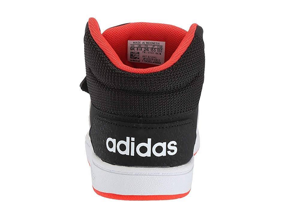 2 Mid Seasons En Niño Negro núcleo 9 Adidas Sport 5c 0 Hoops EIZIS