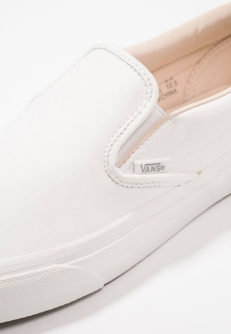 vansbuck Classic Vans De White Blanc on Slip gUt4q