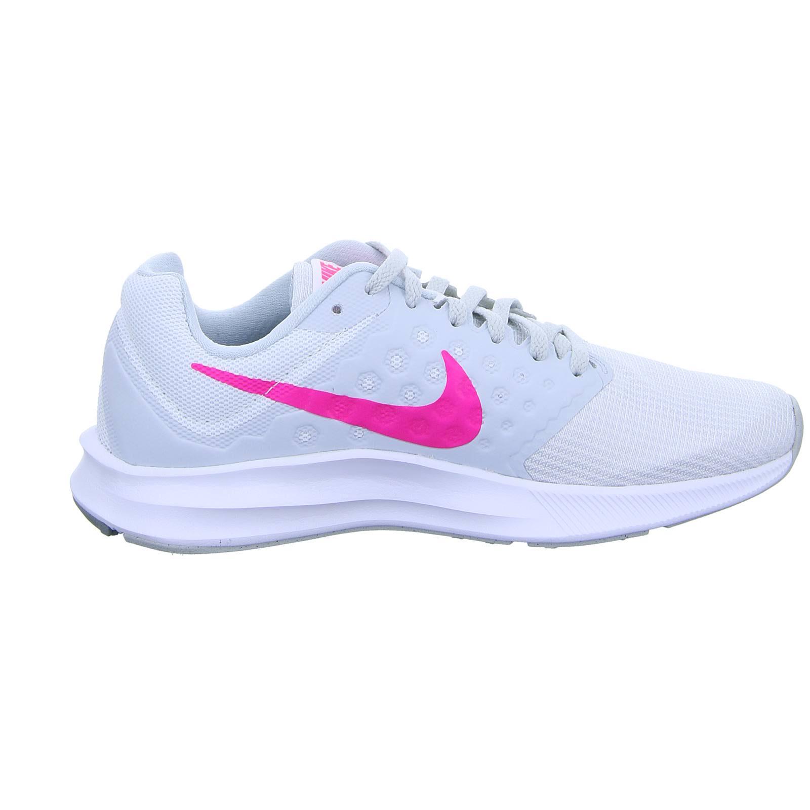 5 Damen hyper white Platinum 37 Pink Mehrfarbig Platinum pure Downshifter 7 black Laufschuhe Eu black Nike BqdAU7F7