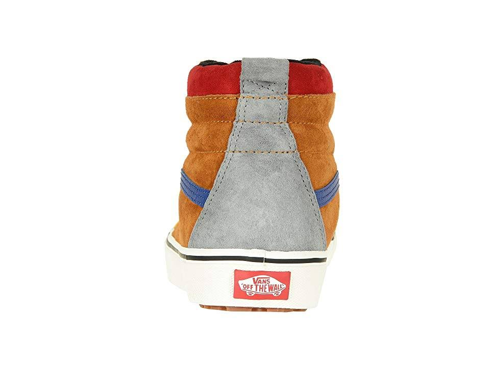 Brown Men's Vans Mte Multi hi sudan Sk8 Mazarine Blue rrwqP