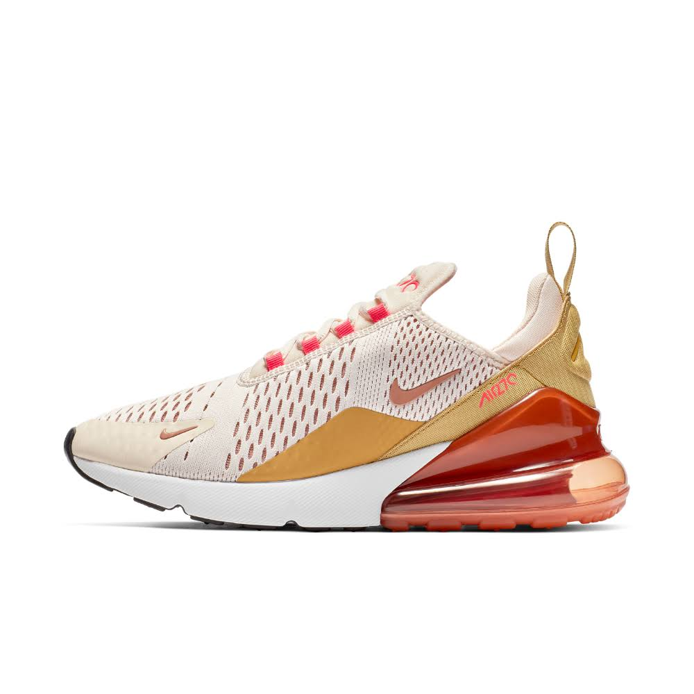 Women's Ice wheat 6 Air Size Guava Shoe Pink 5 Gold cream Max Nike racer 270 qZOnwtHH