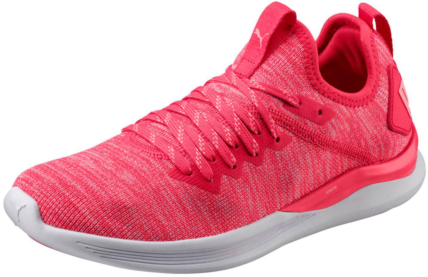 Talla 19051103 De Zapatos Puma Rosa Mujer 9 Ignite Evoknit Flash HqnxTR0