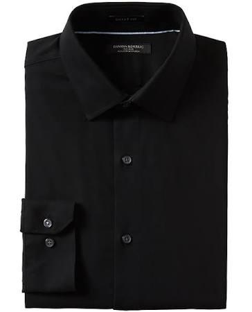Banana Vestir Republic De Slim Tamaño fit Grant Sin Xxl Para Negro Camisa Hombres Planchar rrxfAqHF