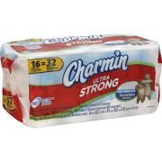 Charmin Ultra Strong Bathroom Tissue 16 Rolls - 16 sh