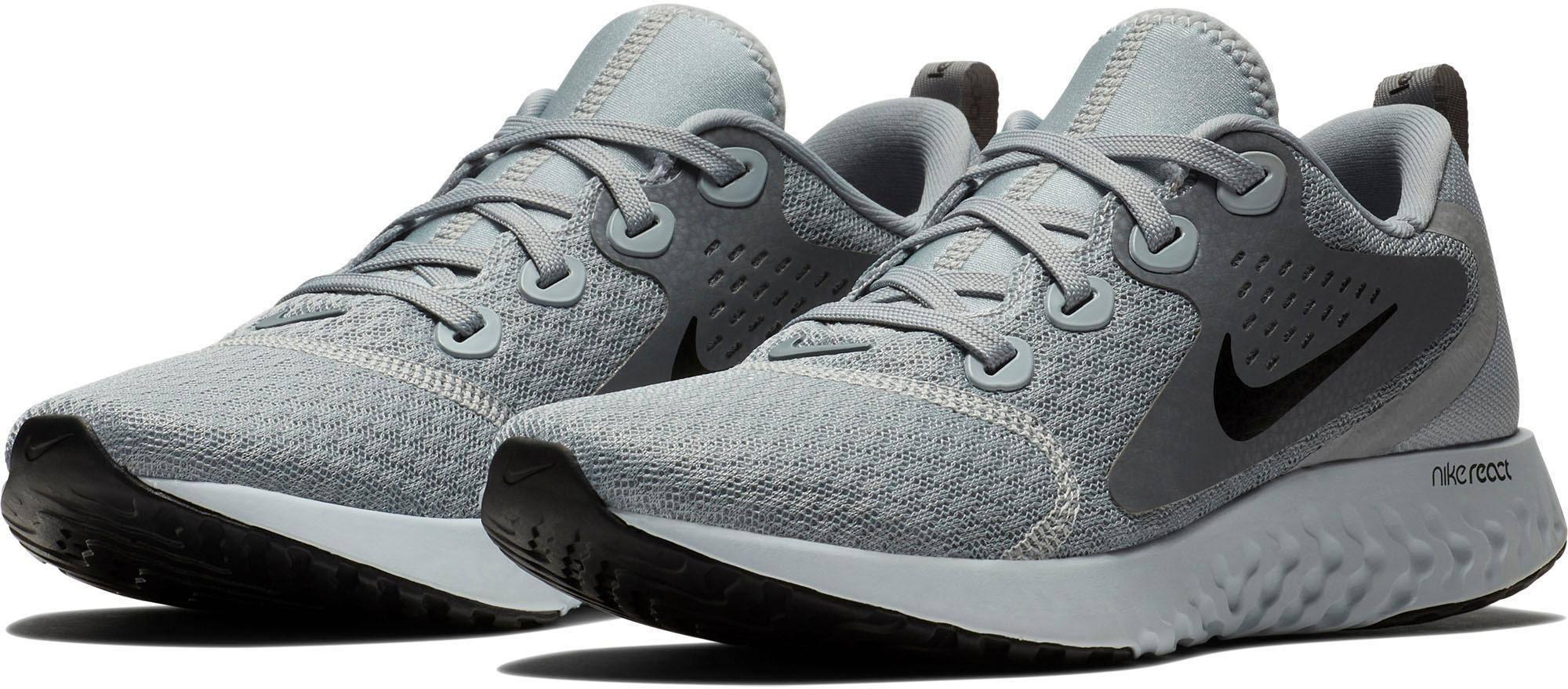 37 Laufschuhe Silber Grau React Grau 5 Gr Nike Damen Legend xTY1waFnq
