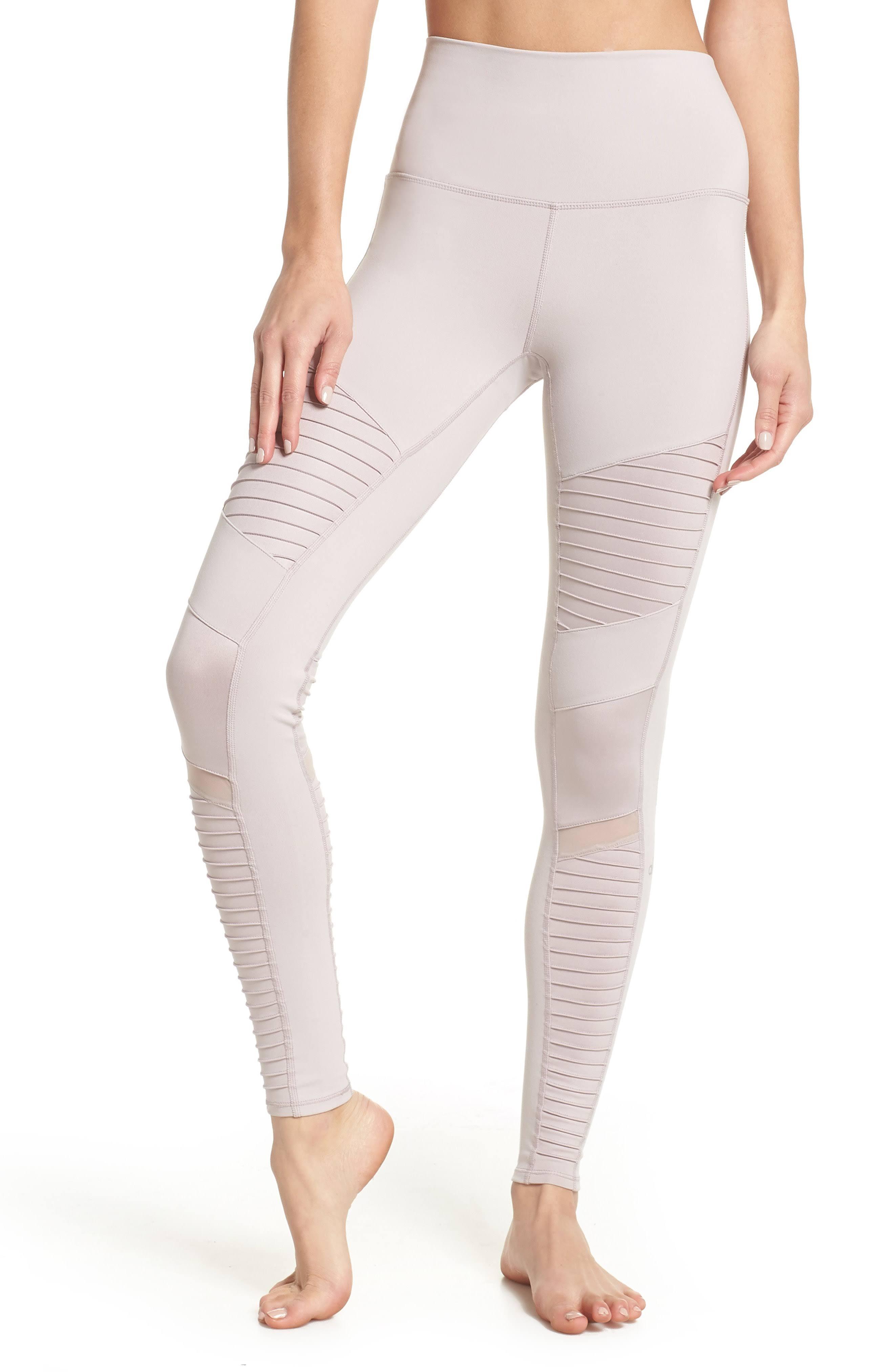 Leggings De Para Mujeres Alta Moto Cintura Alo FFr4qTnwA
