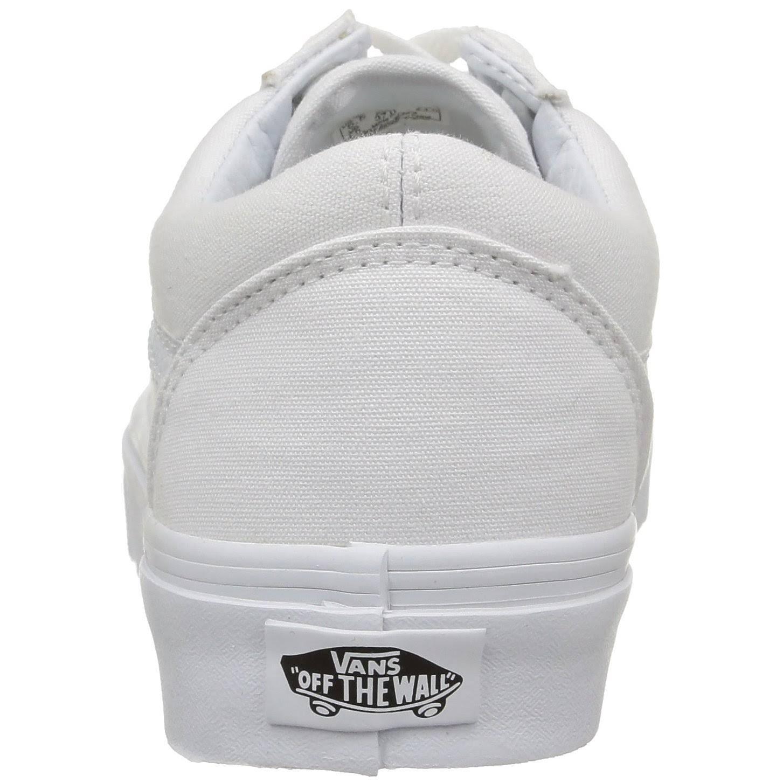 White Vn000d3hw00 Vans Old Größe 7 Herrenschuhe Skool True 5 qwqavIPX