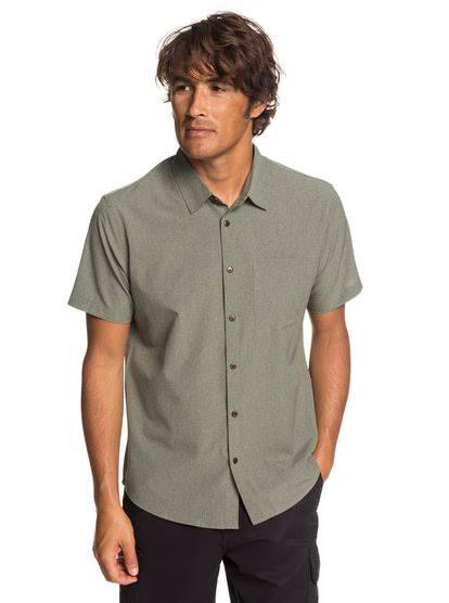 Shirt Tech Down Button Herren Tides Quiksilver xfFqZXf