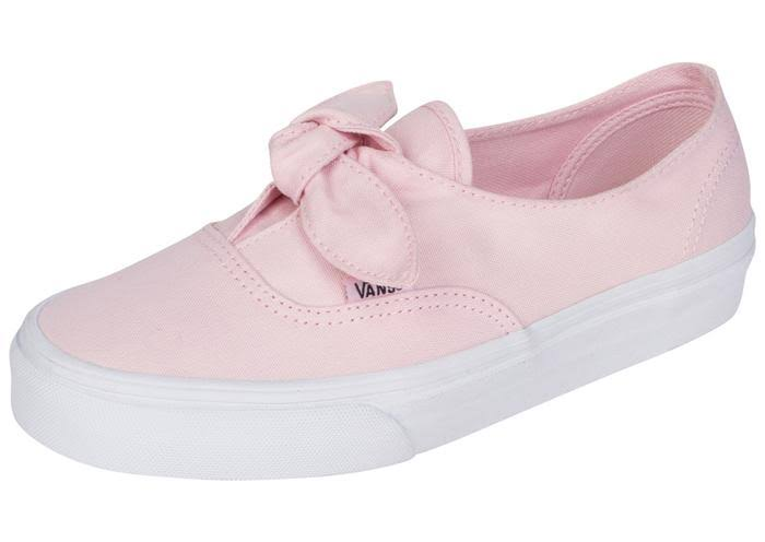 True Authentic Pink Vans Chalk Knotted White qIxWgU