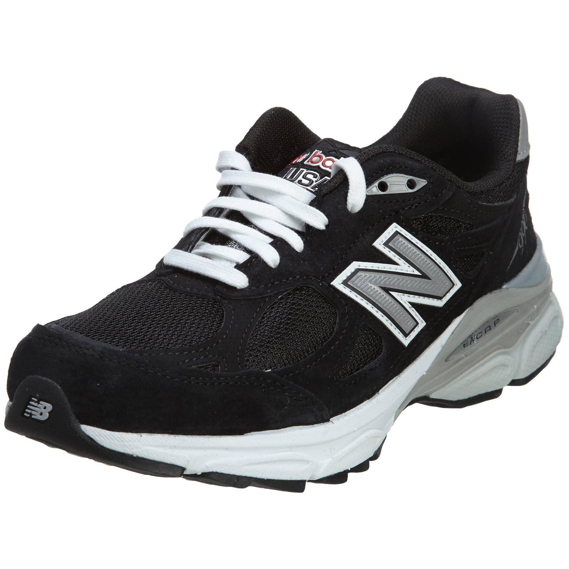 Mujer Para 5 Negro Zapatillas W990bk3 Balance Running New De Plateado 5 6xFcqwYXa