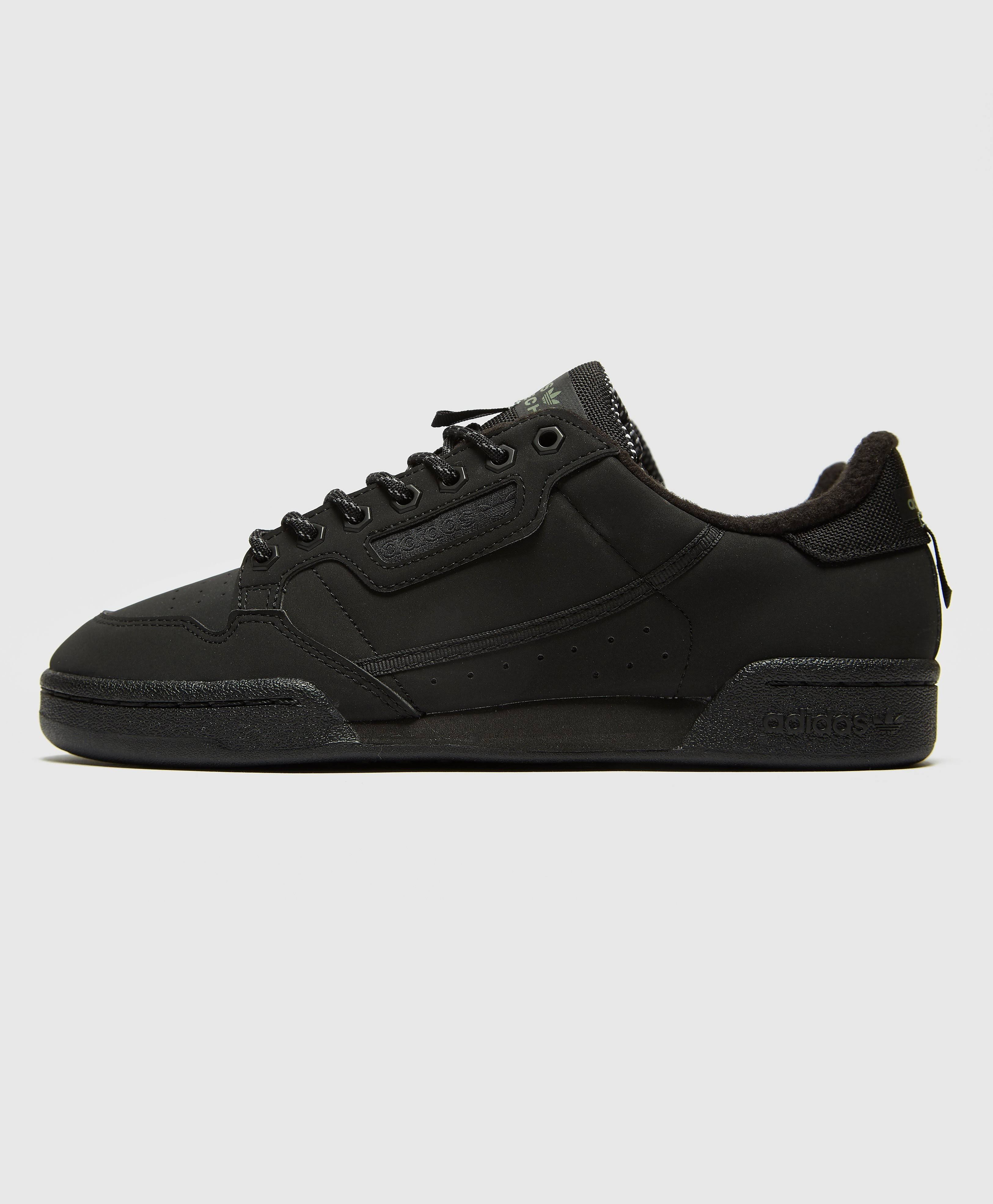 Adidas Continental 80 Shoes - Black