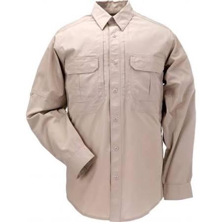 Taclite 11 Regular Khaki Shirt 5 Large 72175 Langarm Tactical Tdu tgwzqU