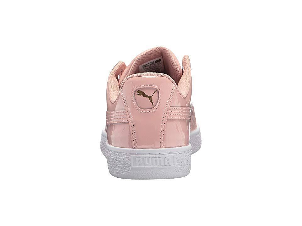 Zapatillas Patent Mujer Beige Puma Basket Heart Sport Classics Peach tEIEqUwrT
