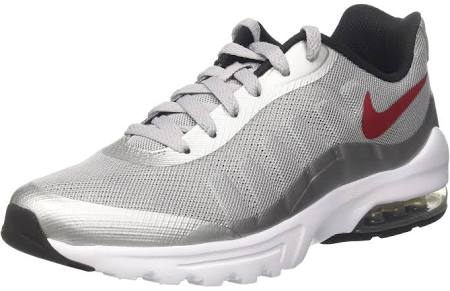 wolf varsity black black Invigor Max Air 42 Sneaker white Grau Red Nike white Eu Herren Red Grey Z18CqwxY