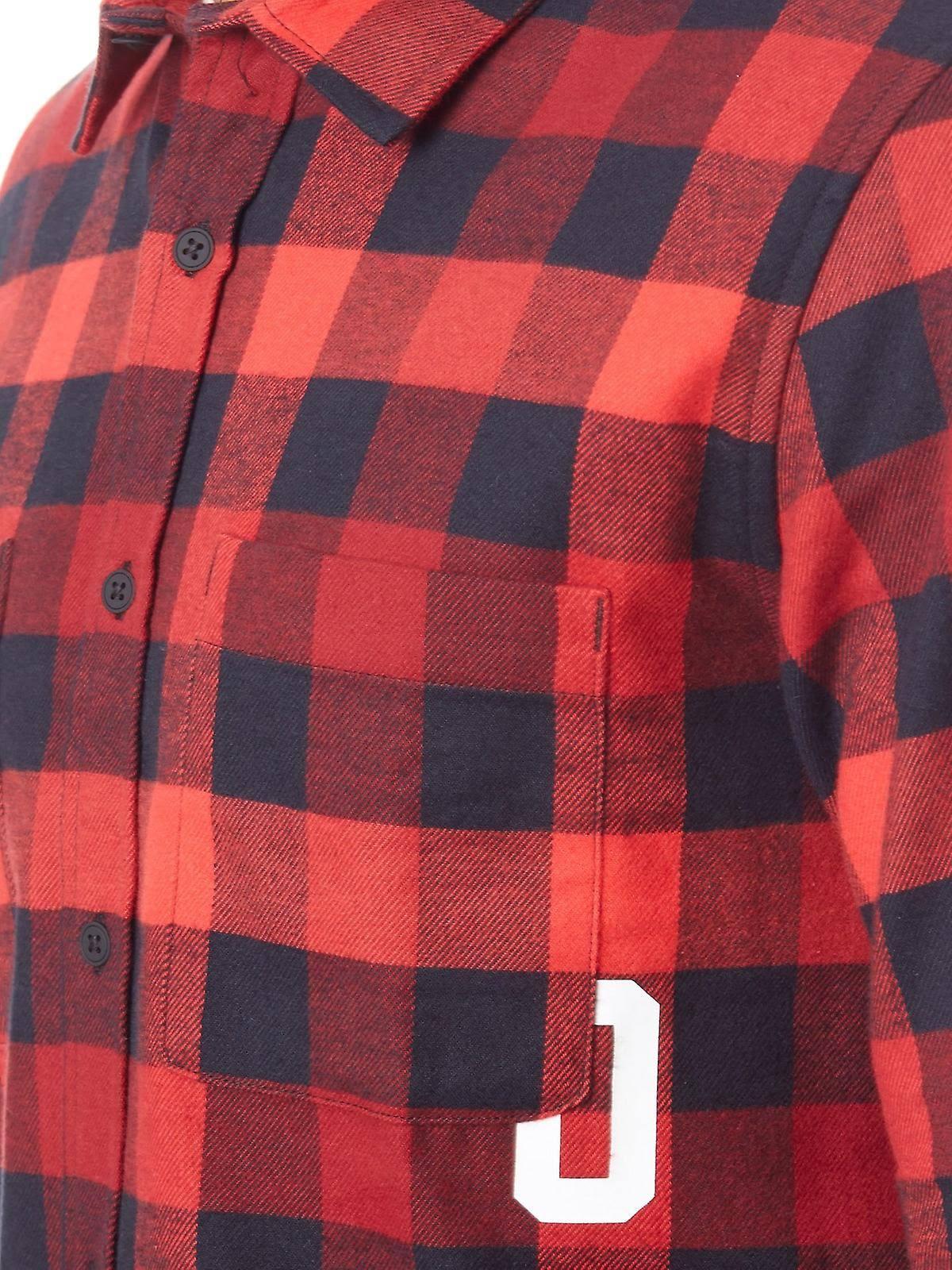 Flanel Oakley Camisa Manga De Line M Larga Red Icon R6TOwPq