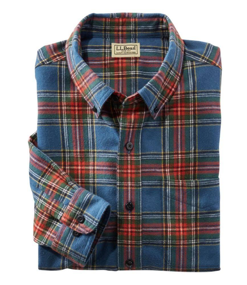 bean l Flanellhemd Herren L Leicht Extra Für Large Schottisches Kariertes Taillierter Tartan q5xPnv
