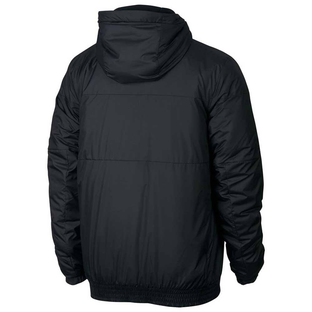 Negro Sportswear Chaqueta Hombre Con Nike Synthetic Fill Capucha tP06Pqwv