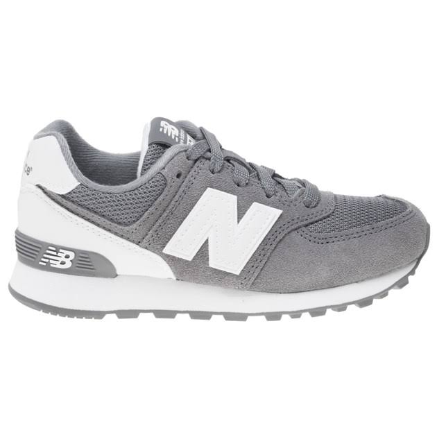 New white 574 Trainers Balance 1 Grey Kids Grey Size XnSXaUr