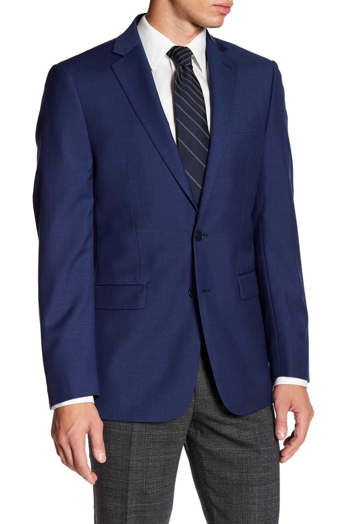 Jacke Blau Slim Calvin Fit fit Solid X 42l Klein 1Ow4Y