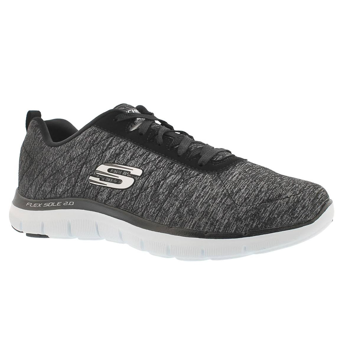 Women's Zwartwit Skechers 2 Sneaker Flex 0 Fashion Sport Appeal f67bgy