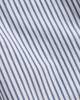 Blau Ralph Knopfleiste Klassisches Lauren Mit Polo Gestreiftes Hemd HUnxOg0wqq