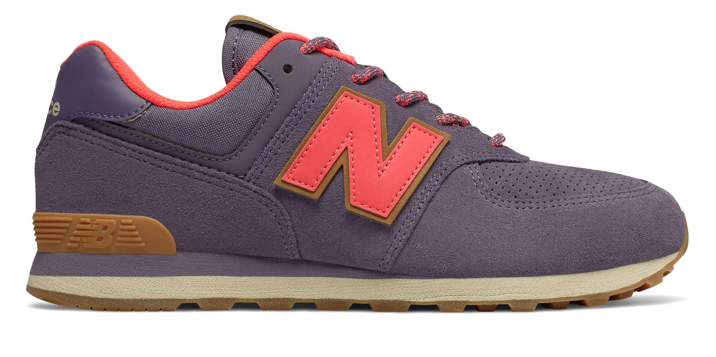 Zapatos Balance 5 Casuales Púrpura New 5 Tamaño Girls De 574 awd8RqIa
