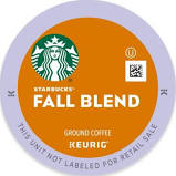 Starbucks For Keurig Keurig K-Cup Pack 16-Count Starbucks Fall Blend 2017 Medium Roast Coffee Multi