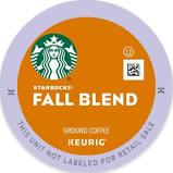 Starbucks For Keurig Keurig K-Cup Pack 16-Count Starbucks Fall Blend 2017 Medium Roast Coffee Multi