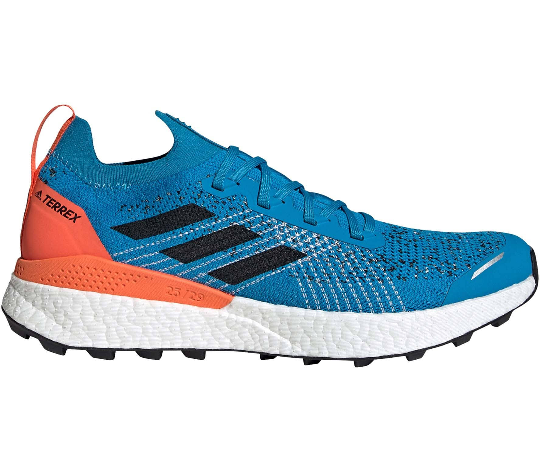 Adidas Terrex Two Ultra Parley Men Trailrunning Shoes Blue